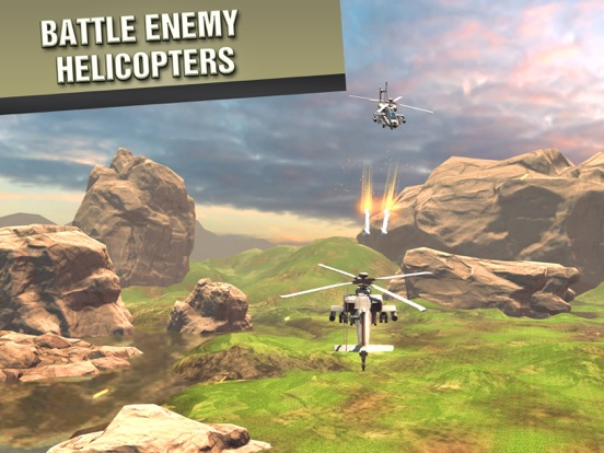 VR Battle Helicopters for Google Cardboard для iPad