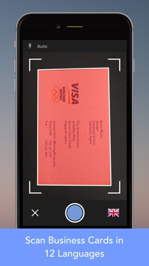Cardwiz pro business card reader scanner on the app store reheart Images