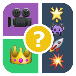 QuizPop Mania! Guess the Emoji Movies and TV Shows - a free word guessing quiz game