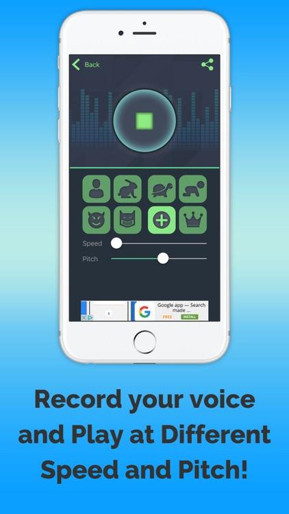 VoiceChange-me screenshot-3