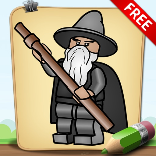 Learn To Draw For Lego Hobbit Version Free