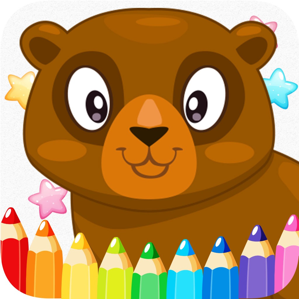animals cartoon art pad learn to paint and draw animals coloring pages printable for kids free . hack
