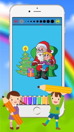 Cocuklar Icin Noel Ve Noel Baba Boyama Kitabi App Store Da