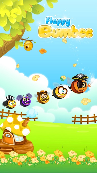 Flappy Bumbee - Honey Bumble Swarm-0