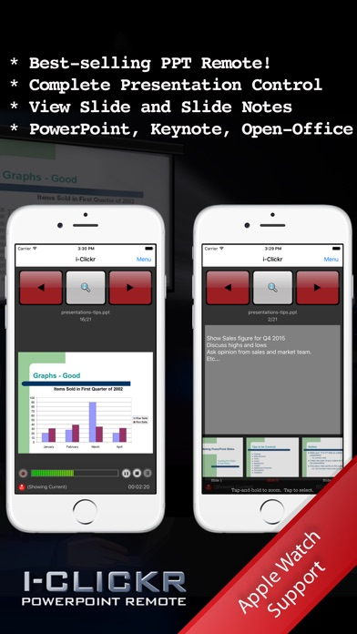 Screenshot for i-Clickr Remote for PowerPoint in Austria App Store