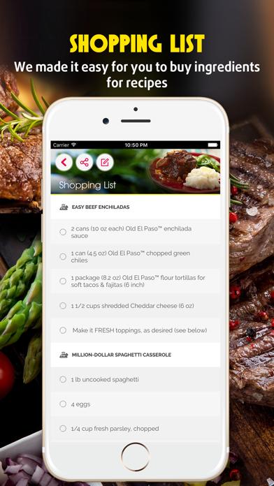 Yummy Beef Recipes screenshot three