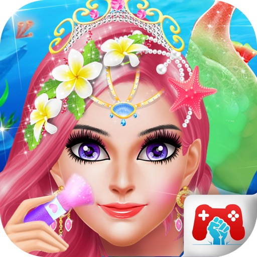 Mermaid Salon Makeover Fun icon