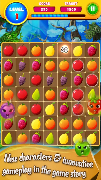 New Fruit Story: Puzzle Match screenshot two