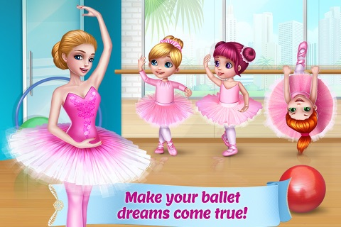 Pretty Ballerina Dancer screenshot 1