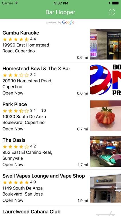 Bar Hopper - Night Clubs Near Me FREE