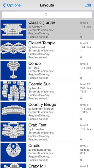 Moonlight Mahjong screenshot1