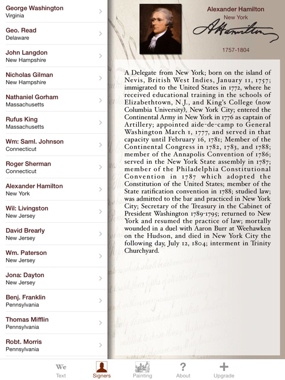 Constitution for iPad screenshot-0