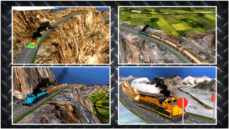 Cargo Train Drive Simulator 3D screenshot-4