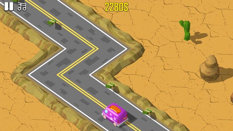 Zig Zag Car Runner