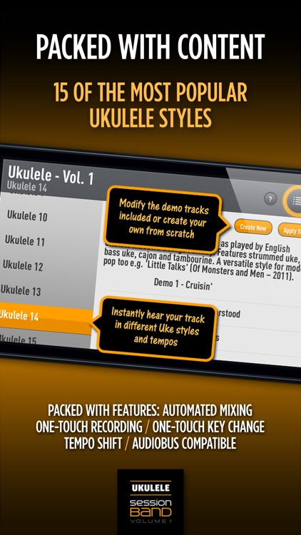 SessionBand Ukulele Band 1 screenshot-3