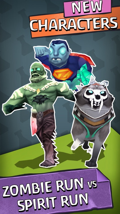Zombie Run HD screenshot-1