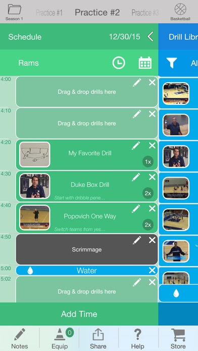 Screenshot for iPracticeBuilder - 25 Sports in United States App Store