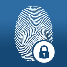 Simple Password Manager - Best Fingerprint Account Locker with Finger Touch Scanner Lock