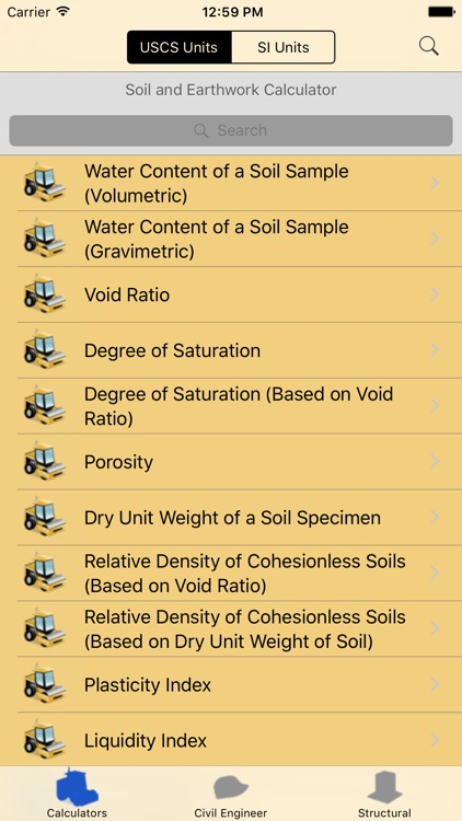 Soil and Earthwork Calculator