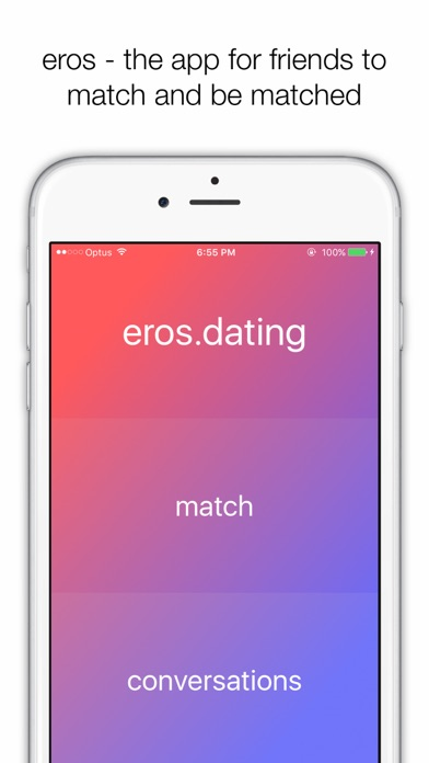Mobile app for matchmaking
