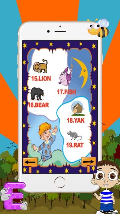 Learn animals in english screenshot two