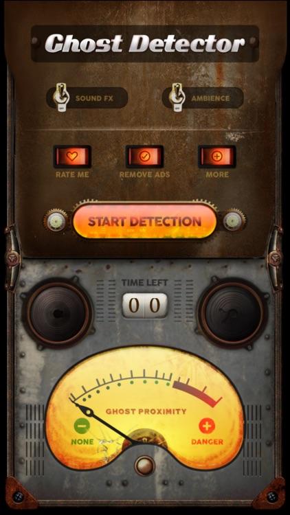 Ghost Detector Camera - scary paranormal activity sensor & spirit detector radar tool