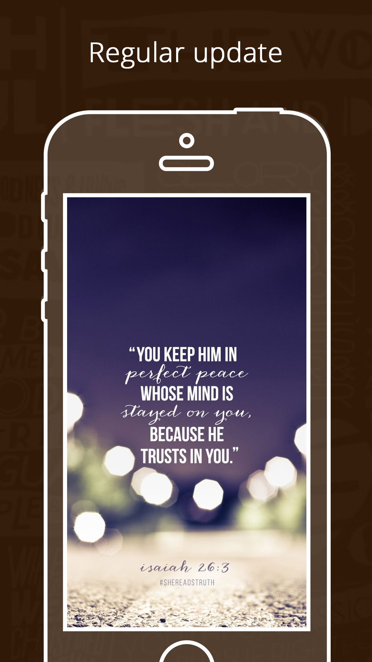 HolyBible   FREE Quote & Verse Wallpapers Screenshot