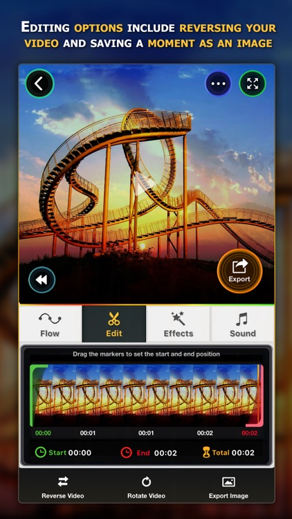 Flow Speed Control ● Camera and Video Editor screenshot-2