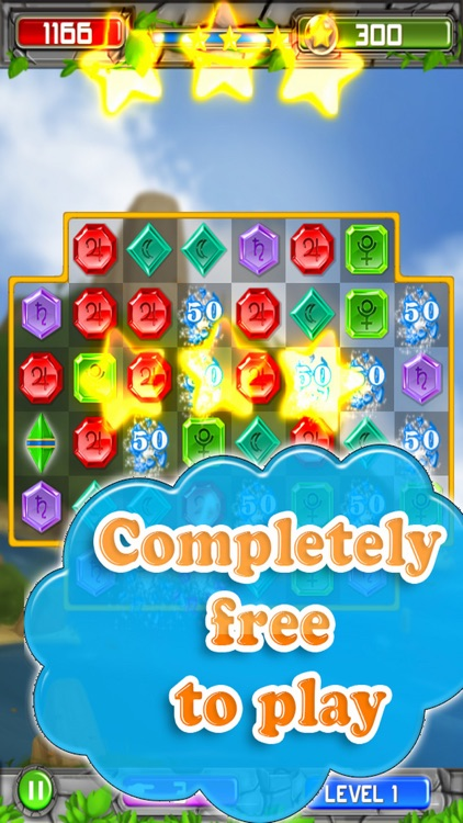 World Of Jewels Star - Puzzle Match Free