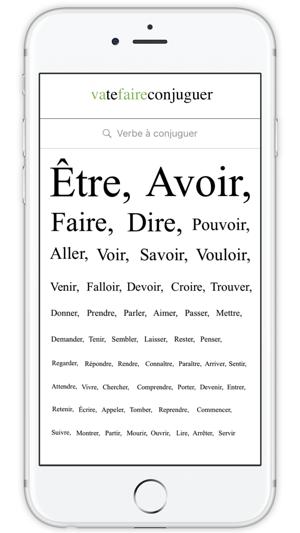 Vatefaireconjuguer Dans L App Store