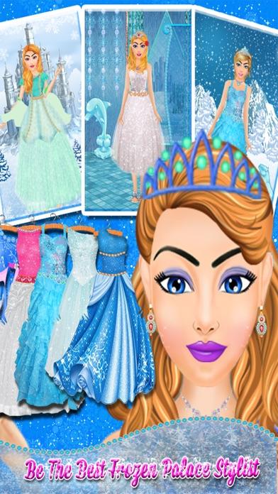 Ice Princess Makeover Salon: Ice Frozen Princess Spa, Makeup & Dress Up Makeover - Girls games for girls screenshot three