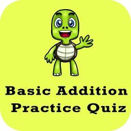 Basic Addition Practice Quiz