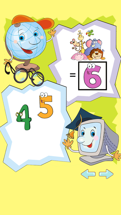 Kids Counting Games : Math Early Learning for Pre K , 1 to 5 Year Olds screenshot three