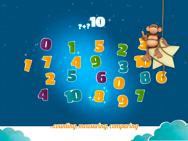 ‎10monkeys Junior Math Screenshot