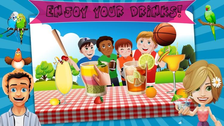 Fruity Summer Drink Fever - Play Free Fun Frozen Juicy Drink Maker Kids Game screenshot-4