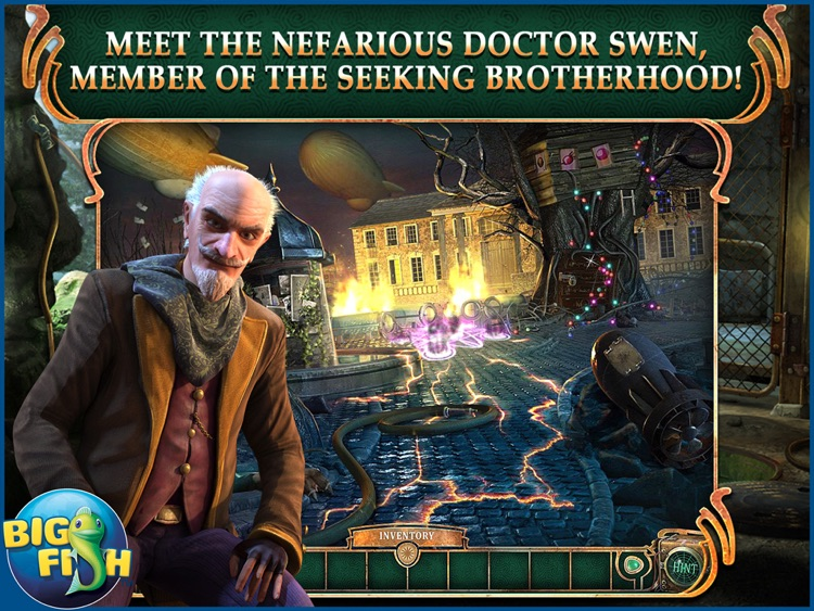 The Agency of Anomalies: Mind Invasion HD - A Hidden Object Adventure (Full) screenshot-0