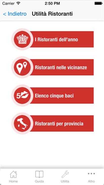 BIBENDA 2016 GUIDA AI MIGLIORI VINI, GRAPPE E RISTORANTI D'ITALIA screenshot-3