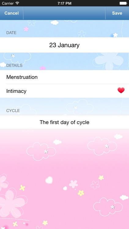 Menstrual Calendar - Ovulation Calculator & Fertility Tracker to Get Pregnant during Period screenshot-3