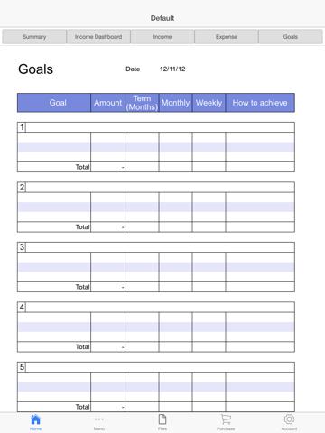 Business Budget Pro Screenshots