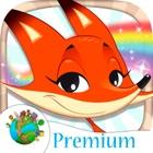 Vernice libro da colorare animali per i bambini - Premium icon