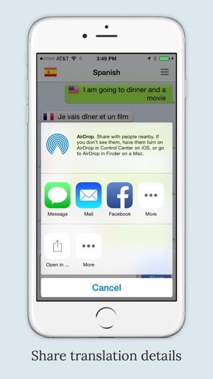 mText2Speech - Language Translator with Voice screenshot-4