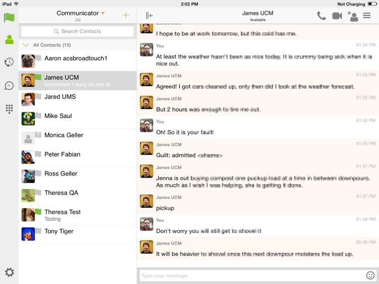 CDK Communicator for iPad
