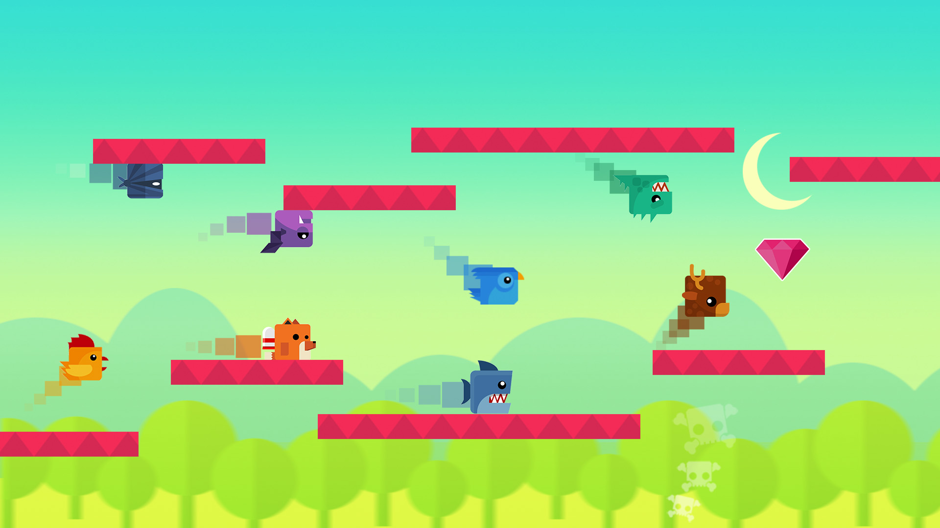 Animal Gravity Run screenshot 11
