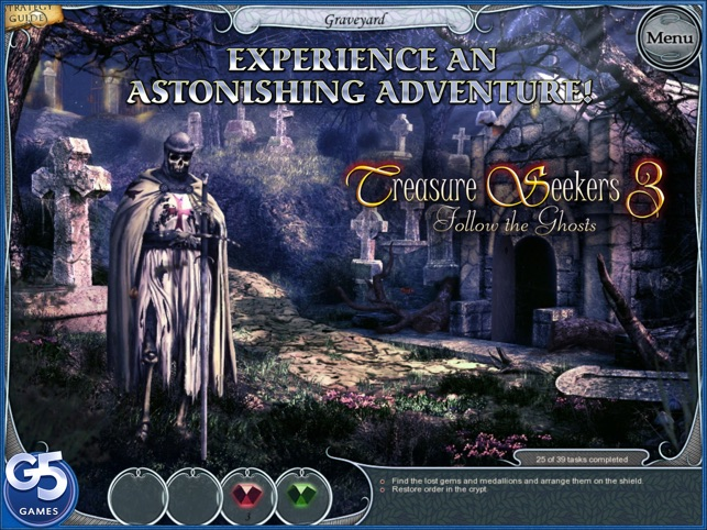 Treasure Seekers 3: Follow the Ghosts, Collector's Edition HD (Full) Screenshot