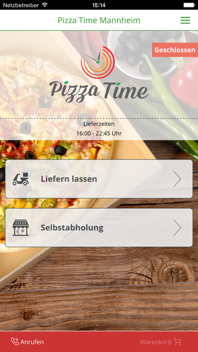 Pizza Time Mannheim screenshot one