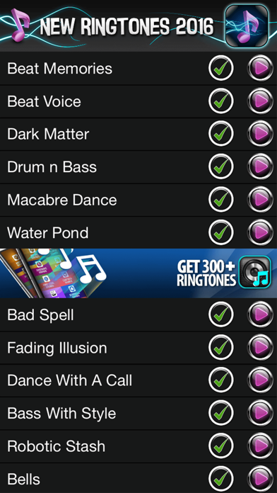 New Ringtones 2016,SMS Tones & Notification Sounds | App
