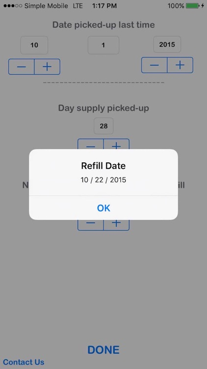 Refill Due Date Calculator