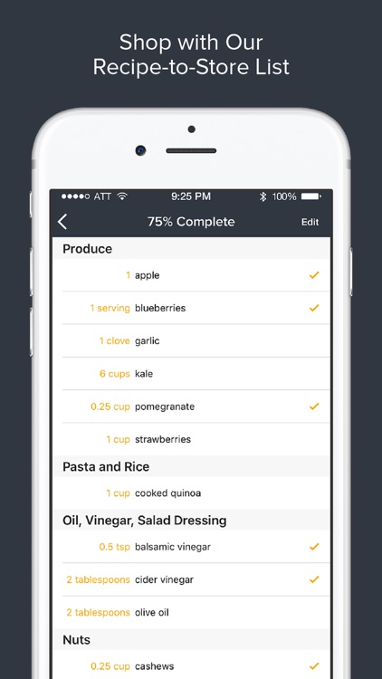 Athleats Pro– Recipe, Calorie Counting & Meal Plan screenshot-4