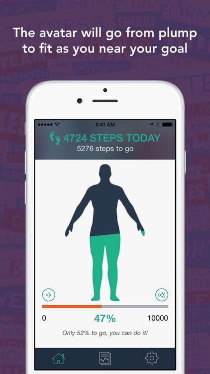 Today Counts - Use Your iPhone To Count Steps - Walk Your Way To A Better Body screenshot-3