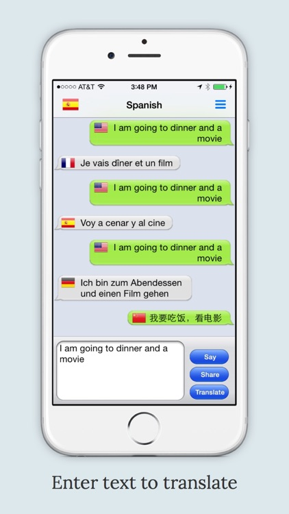 mText2Speech Text to Speech Language Translator